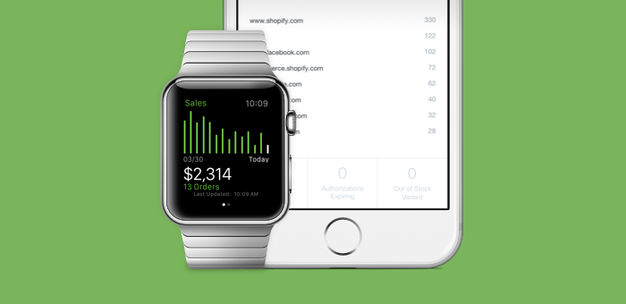 Apple Watch Shopify